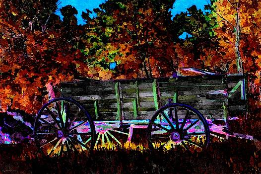 Papas Old Wagon by Lynda K Cole-Smith
