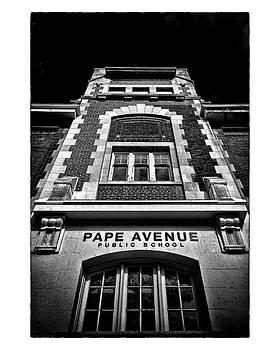 Pape Avenue Public School by Brian Carson