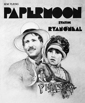 Paper Moon Movie Poster by  Gerald Lambert