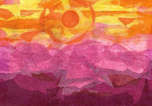 Paper Sunset by Corey Finney