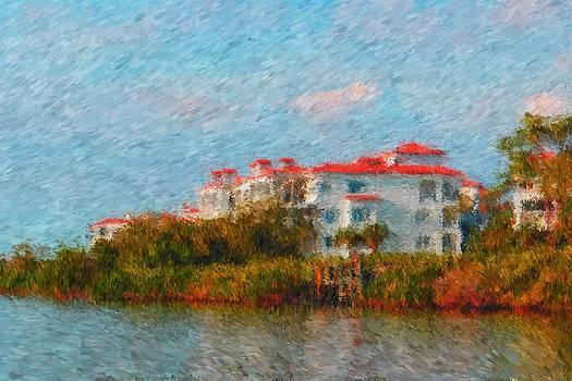 Carmen Del Valle - Paradise Isle impressionism