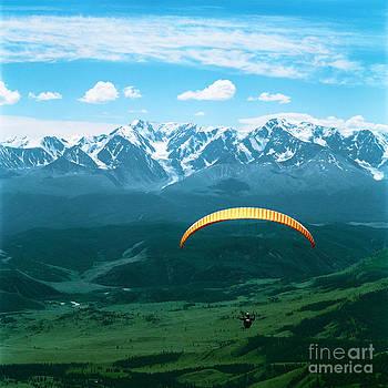 Paraglider by Elena Filatova