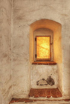 Parchment Window In Thick Adobe Wall by Douglas Orton