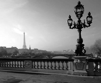 Paris Bridge Lamp by Len Yurovsky