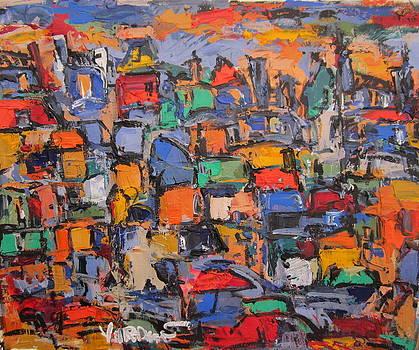 Paris In Colors 02 by Len Yurovsky
