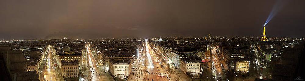 Paris Night by Luis Silva