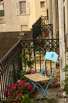 Paris Patio Siesta by David Wong