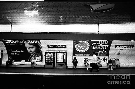 Paris Subway by James Thomas