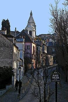 David Pringle - Parisian Street Scene