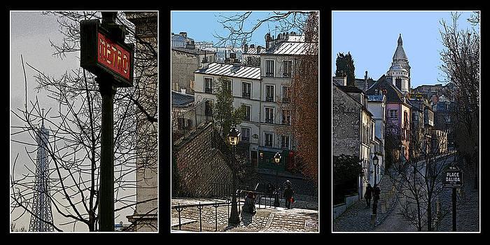David Pringle - Parisian Street Scenes
