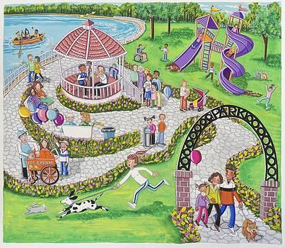 Park Scene by Ilene Richard