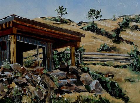 Park's Sauna Livingston  MT by Les Herman
