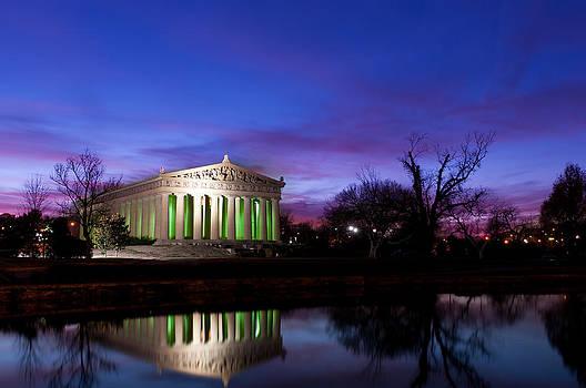 Parthenon Replica Nashville  by Lucas Tatagiba