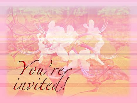 Mother Nature - Party Invitation - General - Wild Azalea Blossoms