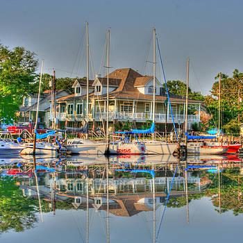 Pascagoula Boat Harbor by Barry Jones