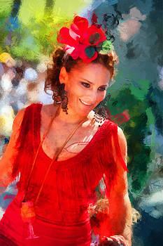 Jenny Rainbow - Passionate Gypsy Blood. Flamenco Dance