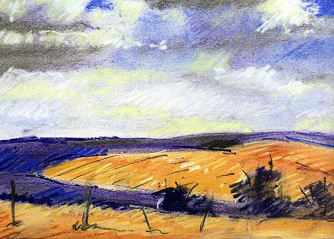 Pastel Landscape by Jon Shepodd
