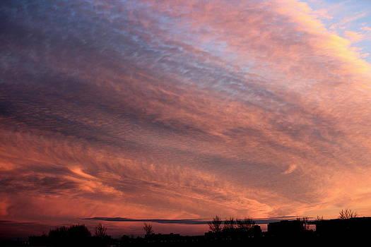 Rosanne Jordan - Pastel Sunset on Lake Michigan
