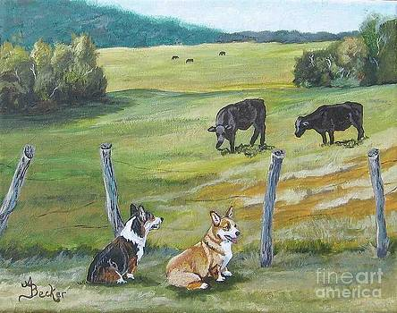Pasture Pals by Ann Becker