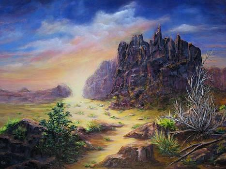 Path of sunlight II by Thomas Restifo