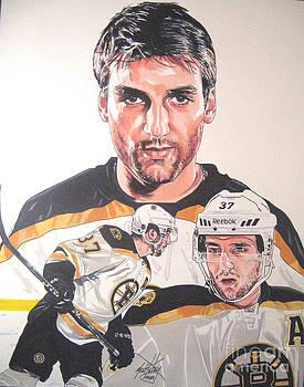 Patrice Bergeron Boston Bruins by Neal Portnoy