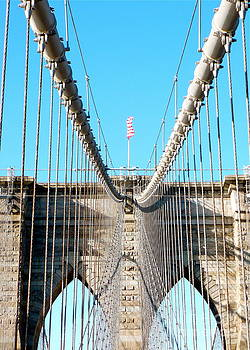 Danielle Groenen - Patriotic Brooklyn Bridge