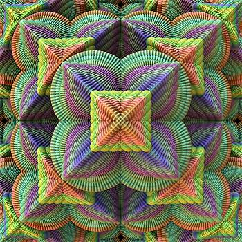 Pattern Pyramid by Lyle Hatch