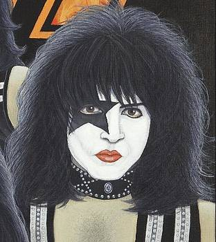 Paul Stanley by Mark Barnett