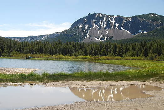 Paulina Lake Oregon by Michael Merry