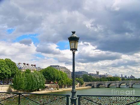 Paysage Parisien - Paris - France by Francoise Leandre