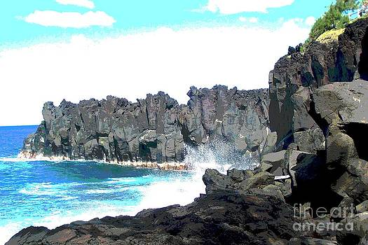Paysage Volcanique - Ile De La Reunion - Reunion Island - Indian Ocean by Francoise Leandre