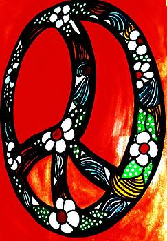 Peace in Paisley by Amy Carruth-Drum