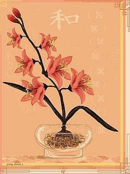 Peace Lily by Jenny Sorge