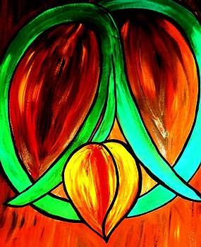 Peace Love and Tulips by Amy Carruth-Drum
