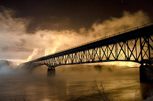 Peace River Bridge by Steve  Milner