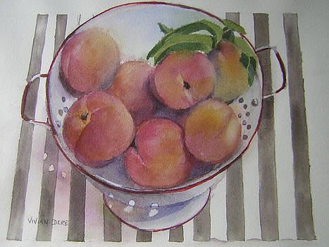 Peaches by Vivian Dere