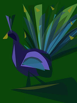 Peacock by Betsey Walker Culliton