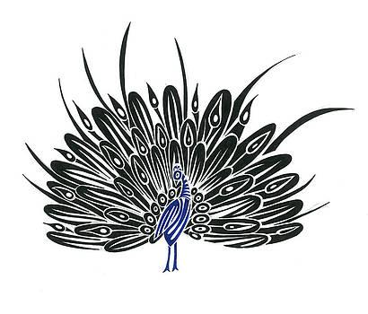 Peacock  by Raiyan Talkhani