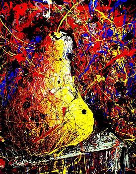 Pear Still Life by Artist Singh