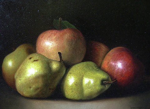 Pears And Apples by Rodrigo Cardoso