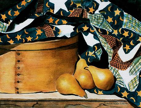 Pears and Stars by Susan Elise Shiebler