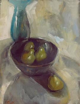 Pears by Nancy Blum