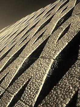 Pebble Wall by Shawn Savage
