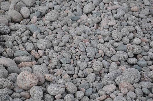 Pebbles on Cape Breton by Jeff Moose