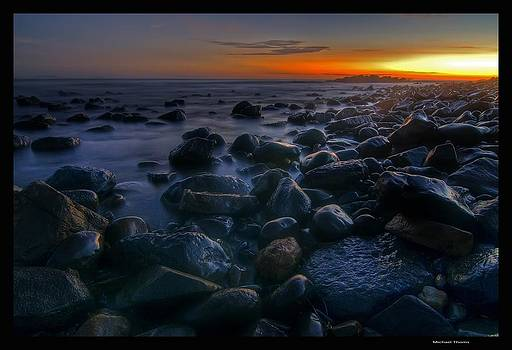 Pebbly Beach Sunrise by Michael Thoms