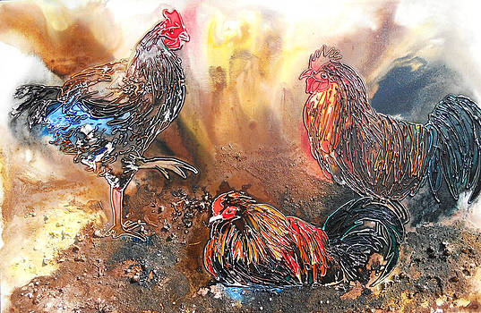 Pecking Order by Carol McLagan