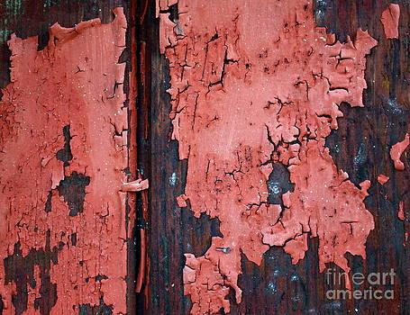 Gwyn Newcombe - Peeling Red Paint