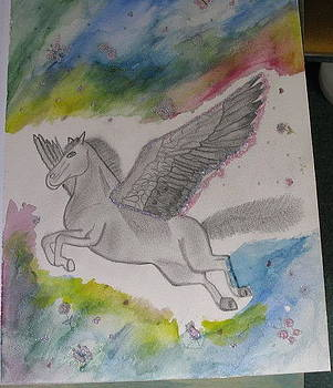 Pegasus by Diana  Lesher