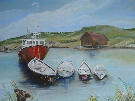 Peggy's Cove by Joyce Reid