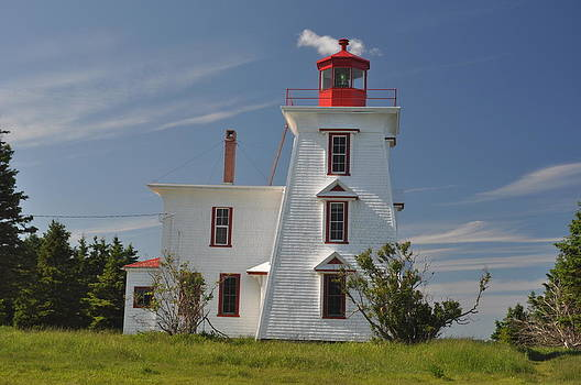 PEI Lighthouse by Jeff Moose